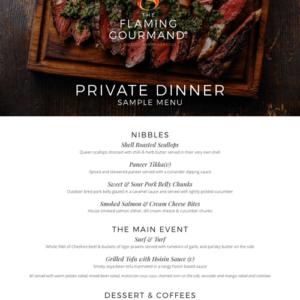 private.dinner.menu